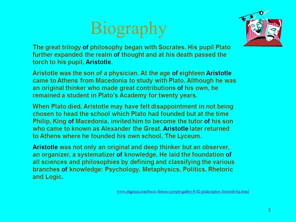 aristotle school of thought