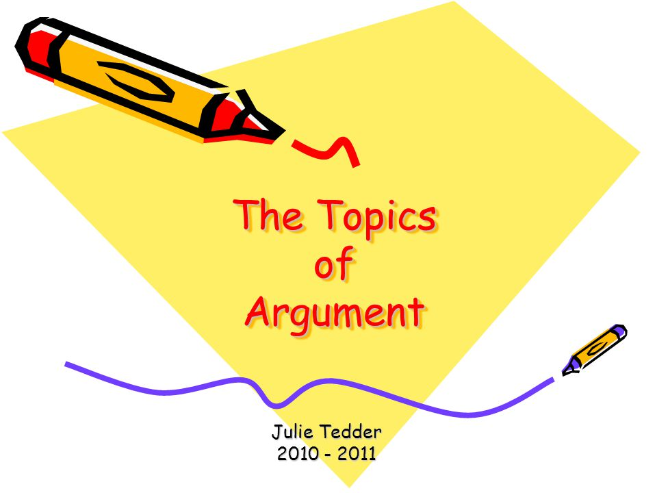 rhetorical topics
