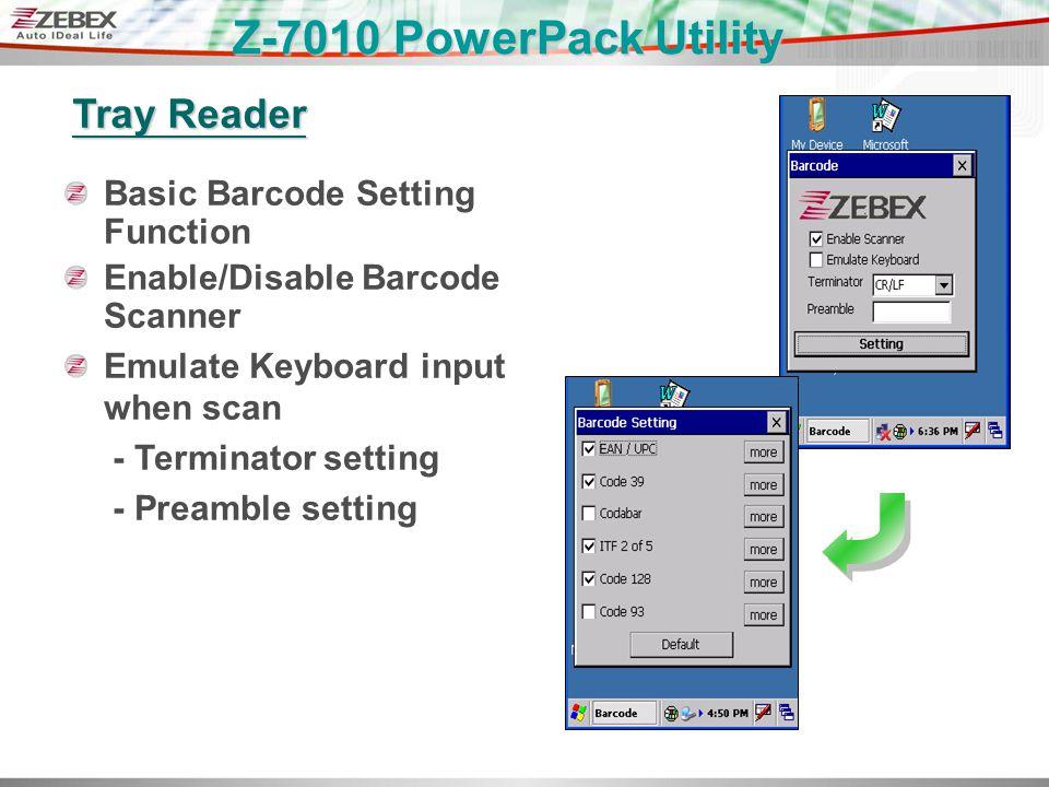 Z-7010 Windows CE NET Fixed Computer March 30, 2009 ZEBEX