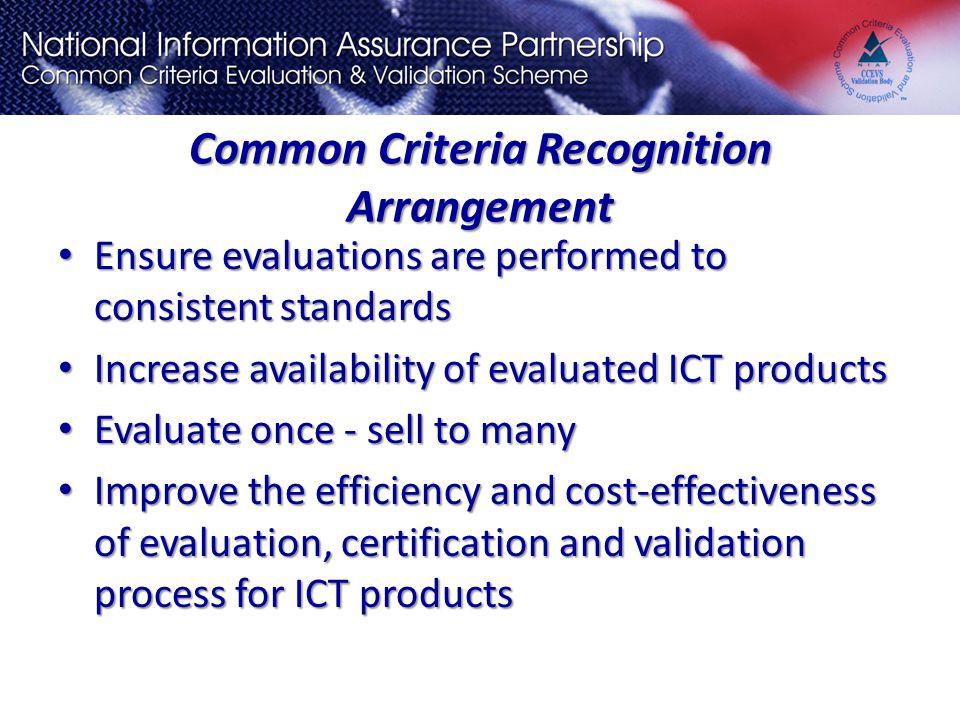 Common Criteria National Information Assurance Partnership