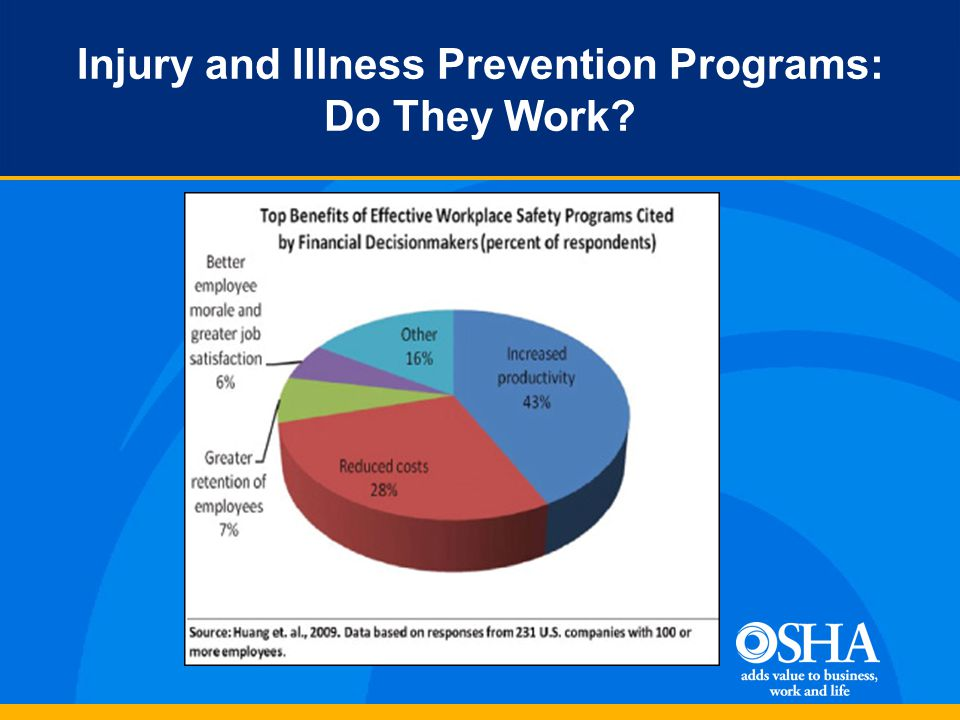 Injury and Illness Prevention Programs: Do They Work
