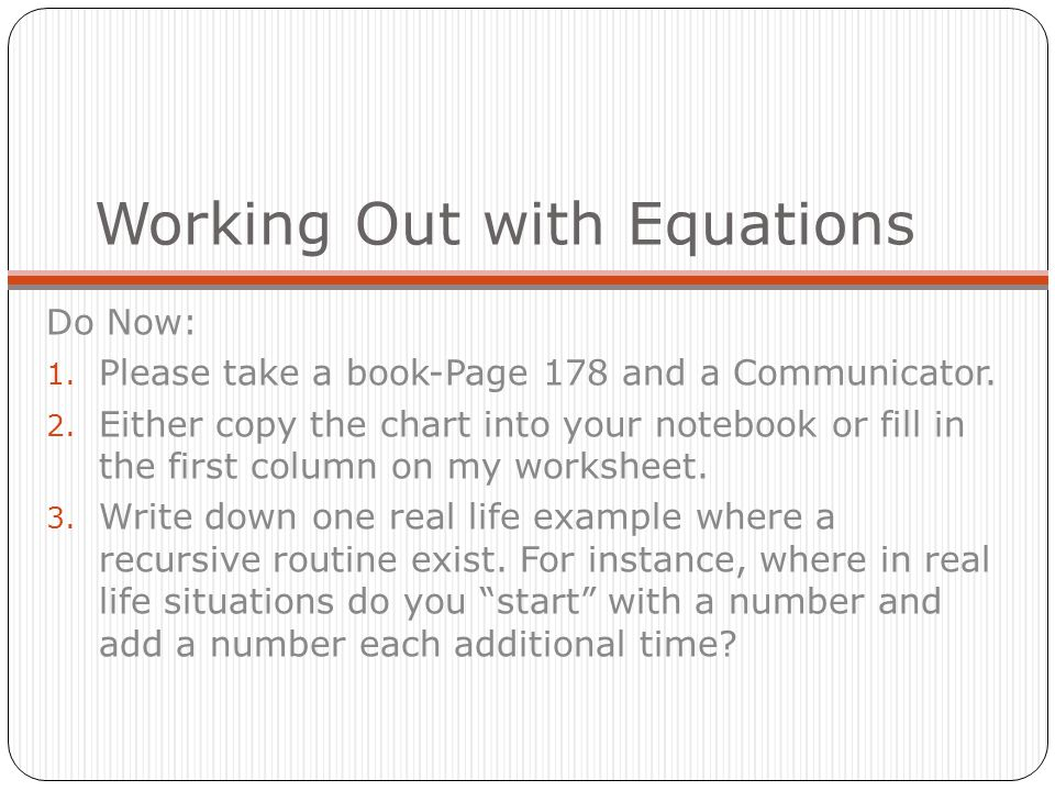 Linear Equations Intercept Form Write A Linear Equation In