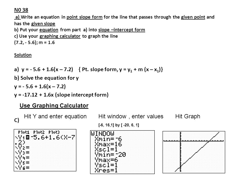 15 Linear Functions 16 Linear Regression 15 Slope Intercept