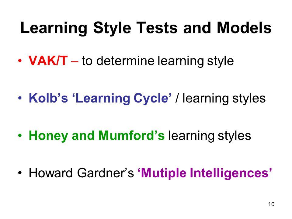 honey and mumford learning styles explained
