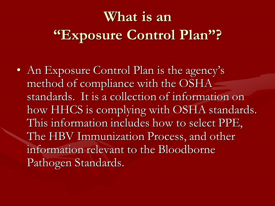 OSHA Bloodborne Pathogens Standards. WHAT IS OSHA? O OSHA is the acronym used for the: Occupational Safety and Health Administration A A branch of the. - ppt download - 웹