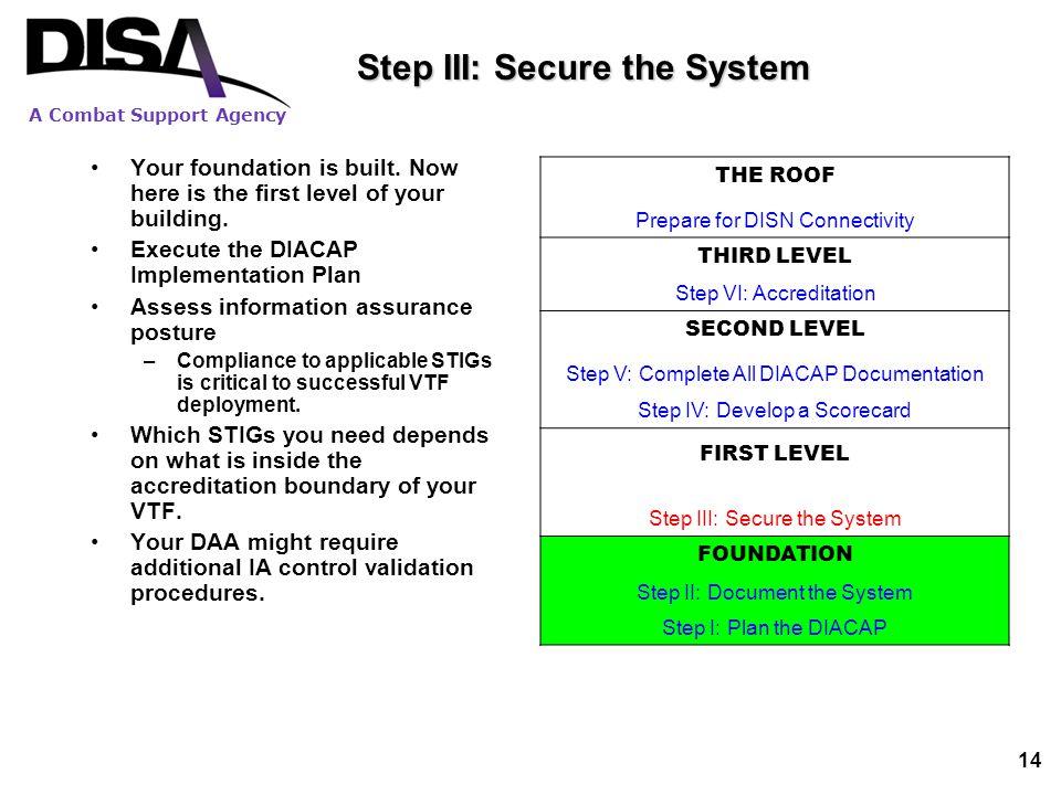 Disn Video Services September 21 2009 An Overview Of The Vtf Diacap