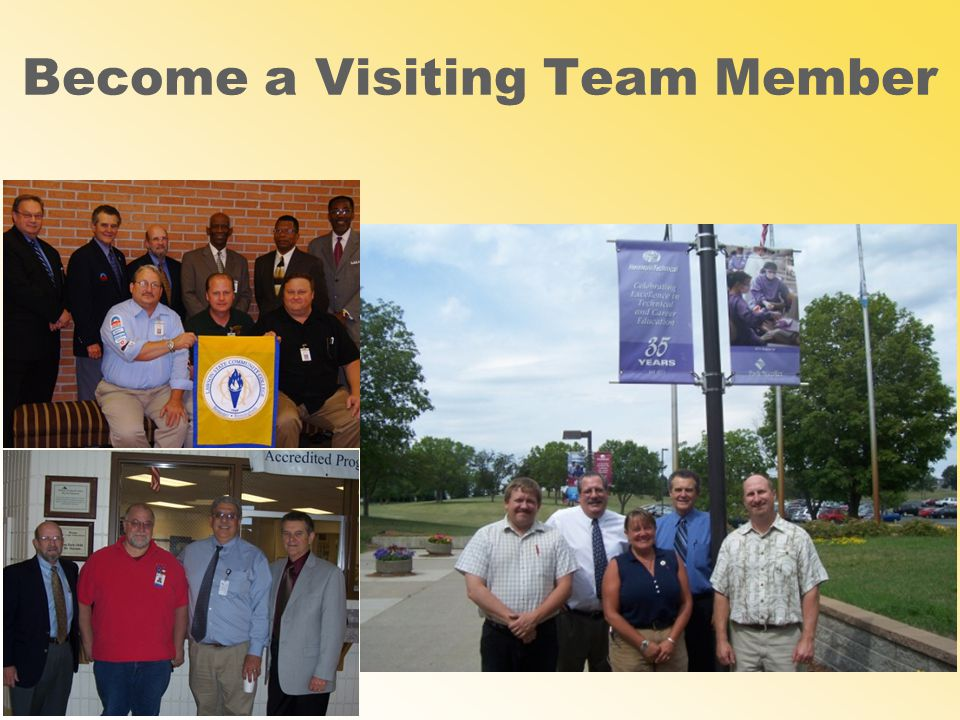 Become a Visiting Team Member