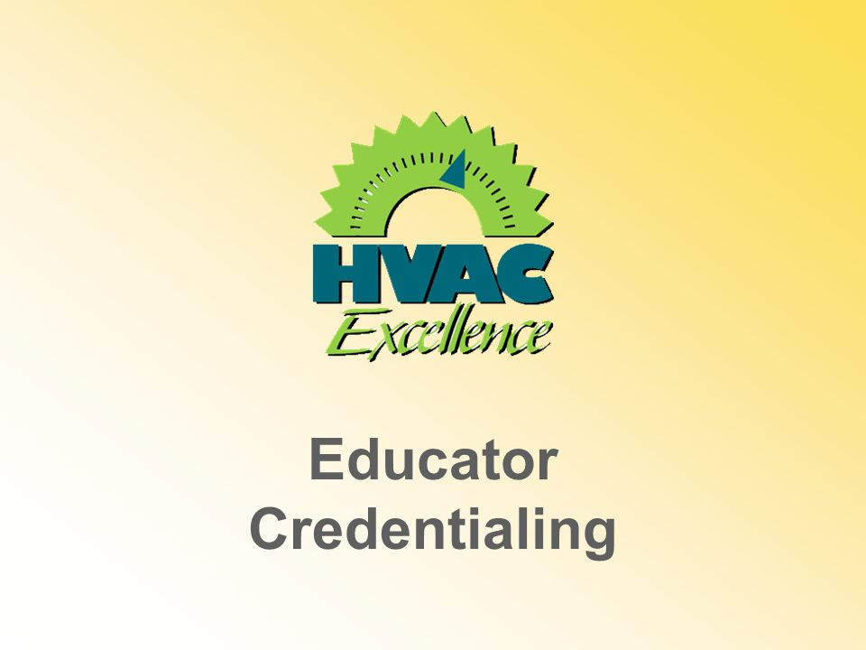 Educator Credentialing