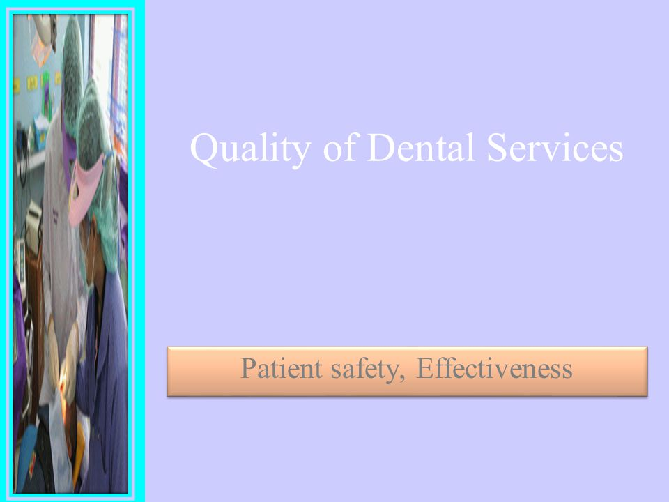 Thailand Country Report on Quality of Dental services Sutha