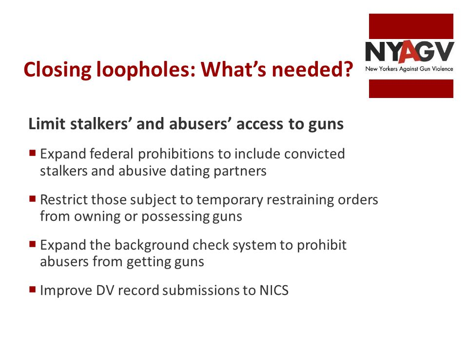 dating partner loophole