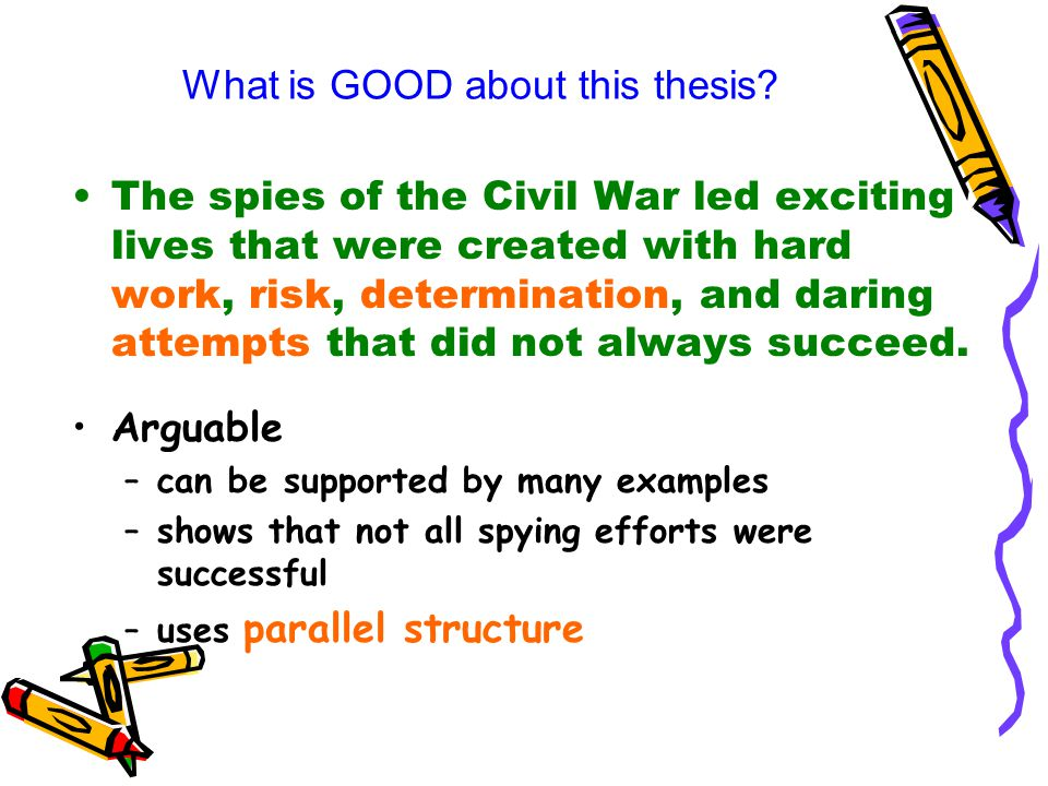 Civil war thesis statement examples professional report writing site usa
