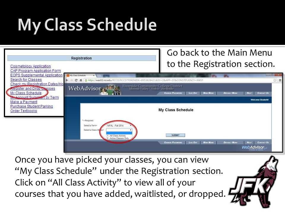 Login To Webadvisor Using The Login Information Norco College Sent