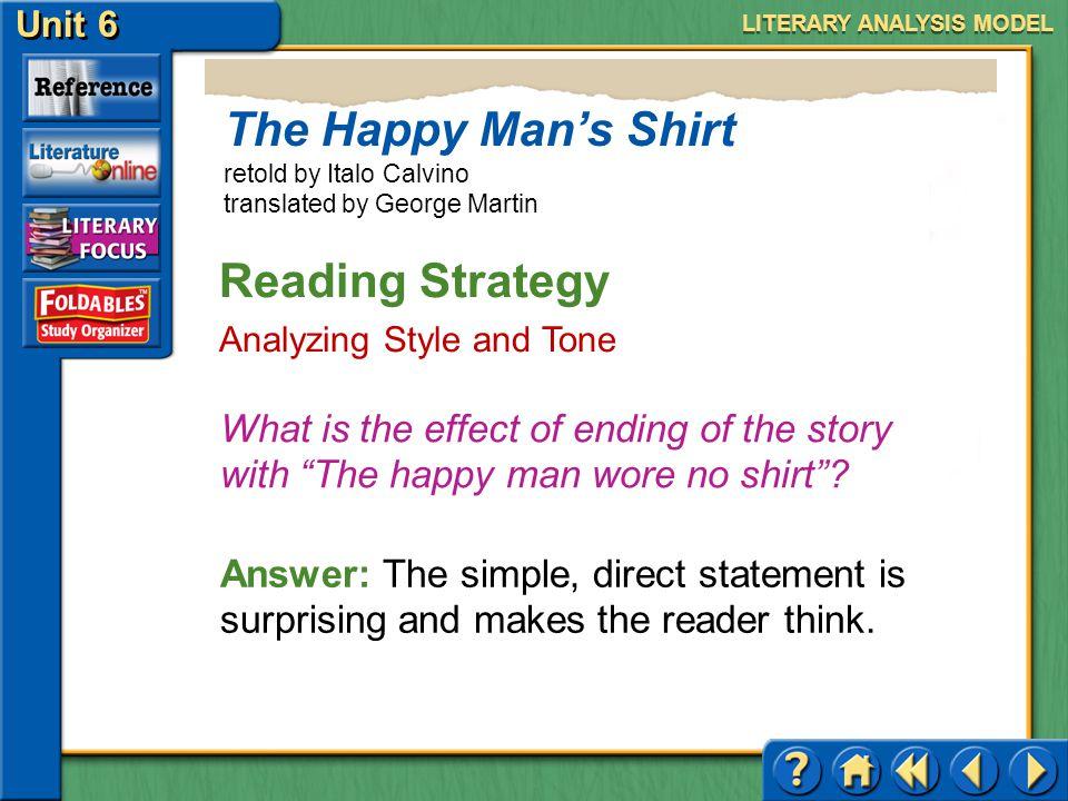 the happy man story