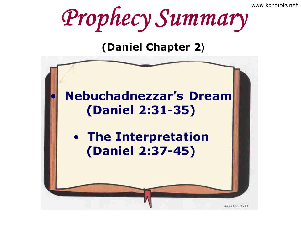 3  Prophecies of Daniel (1) DISCOVERING BIBLE PROPHECY (Presented by