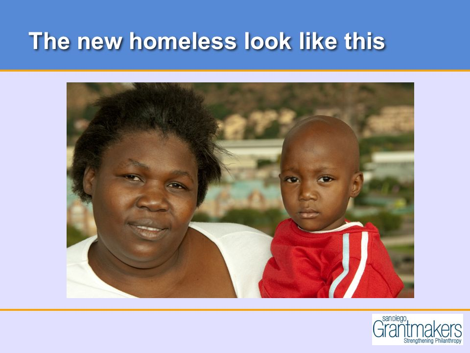 The new homeless look like this