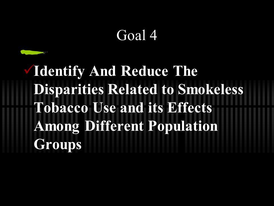 Smokeless Tobacco The Next Generation Niki Sue Mueller Ppt Download