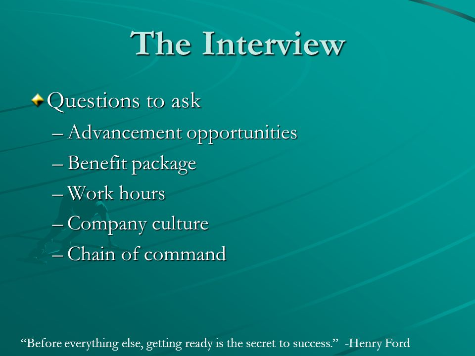 Interview Like a Pro  Successful Interviewing