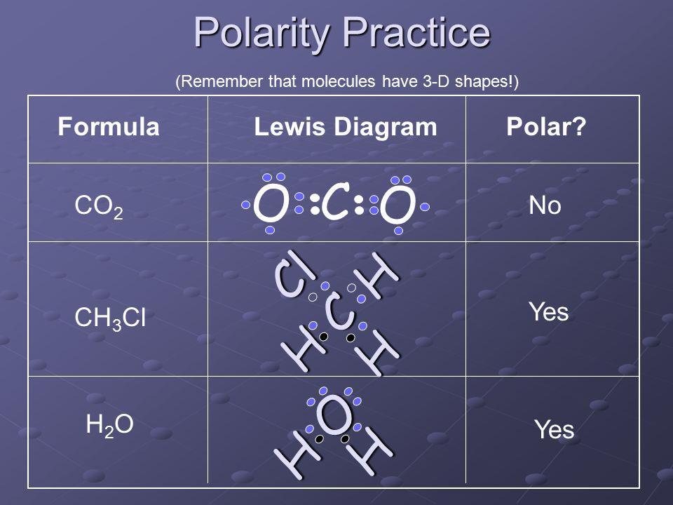 13 polarity practice formulalewis diagrampolar?