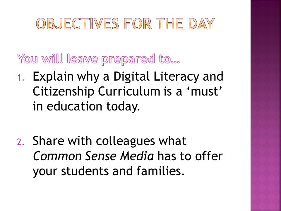 Common Sense Media Laurie Alexander Eureka City Schools