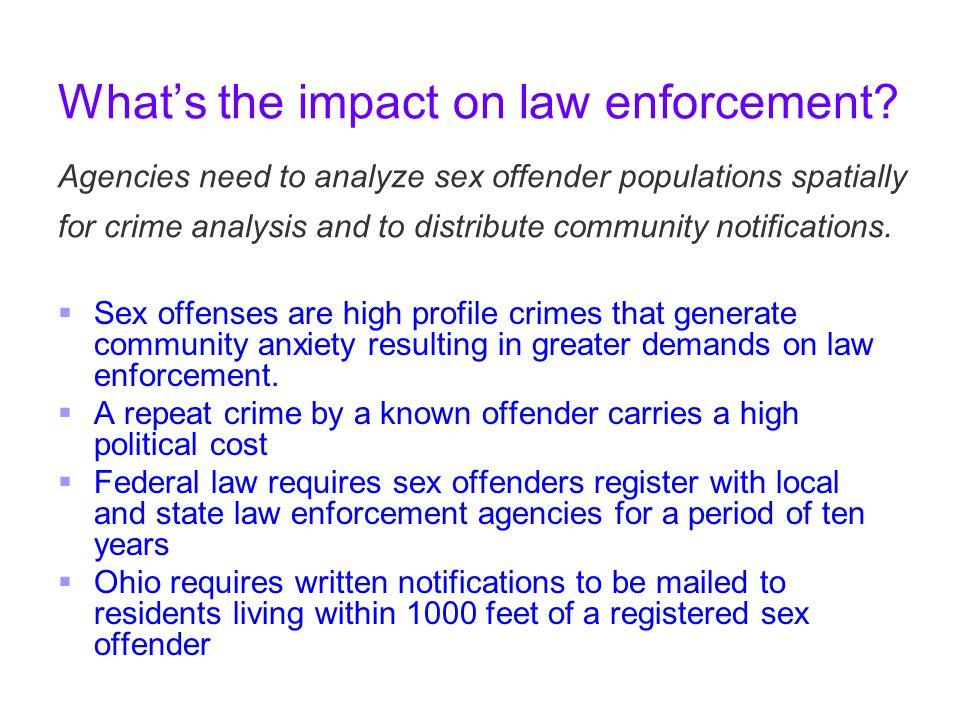 Ohio sex offender community notification