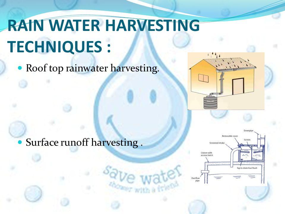 SAVE WATER:RAIN WATER HARVESTING WHAT IS RAIN WATER