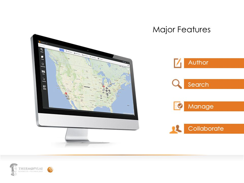 Major Features Author Search Manage Collaborate