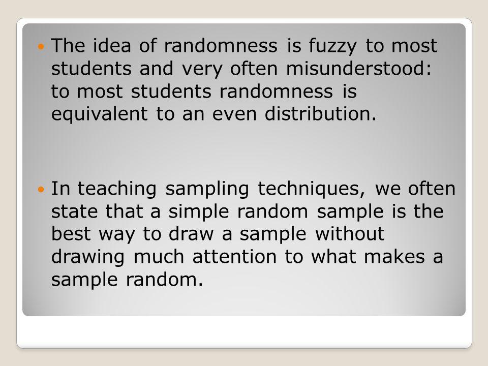 misunderstood sample