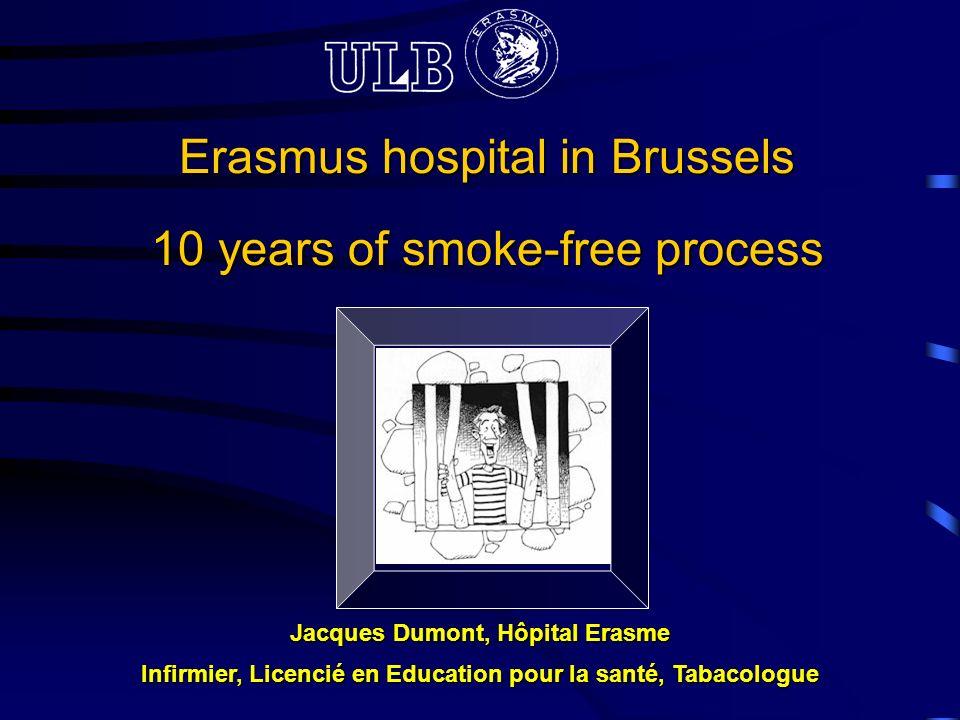 Erasmus hospital in Brussels 10 years of smoke-free process ... on