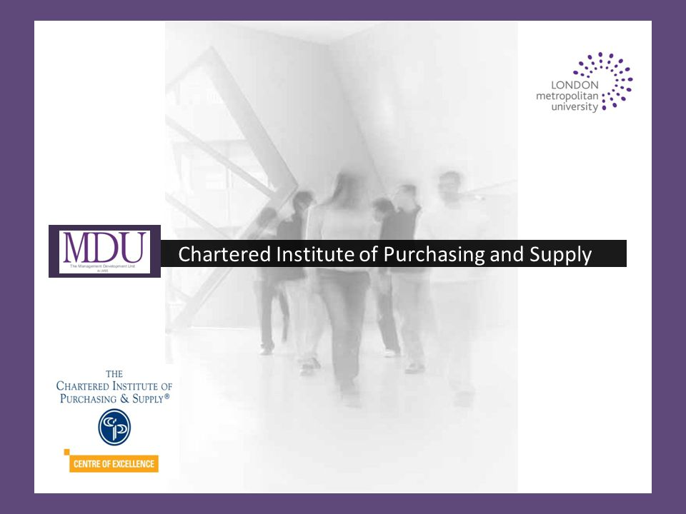 Chartered Institute of Purchasing and Supply