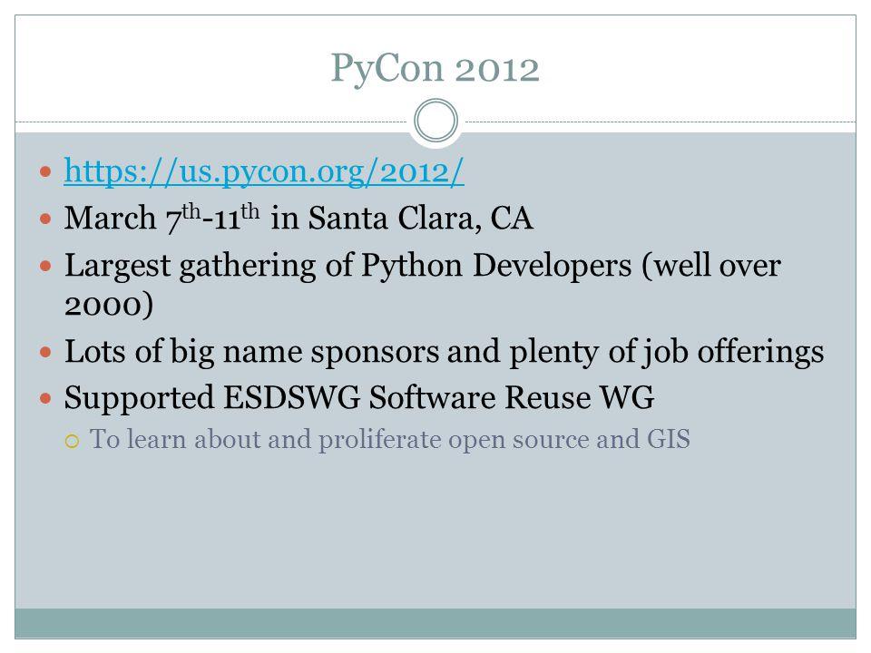 CAMERON GOODALE PAUL RAMIREZ GIS and Python  PyCon March 7 th -11 th