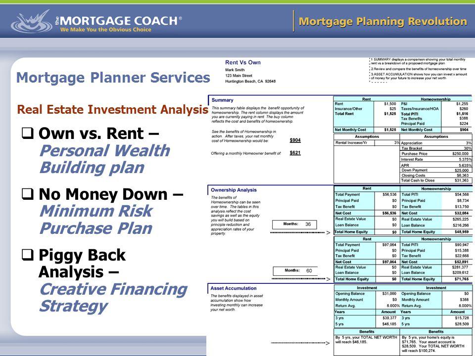 Mortgage Planning Revolution 1 Mortgage Planning ppt download