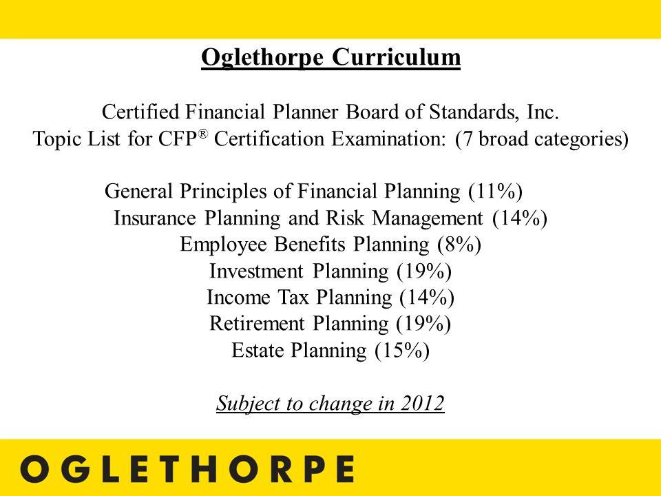 Financial Planner Program At Oglethorpe University Make A Life Make