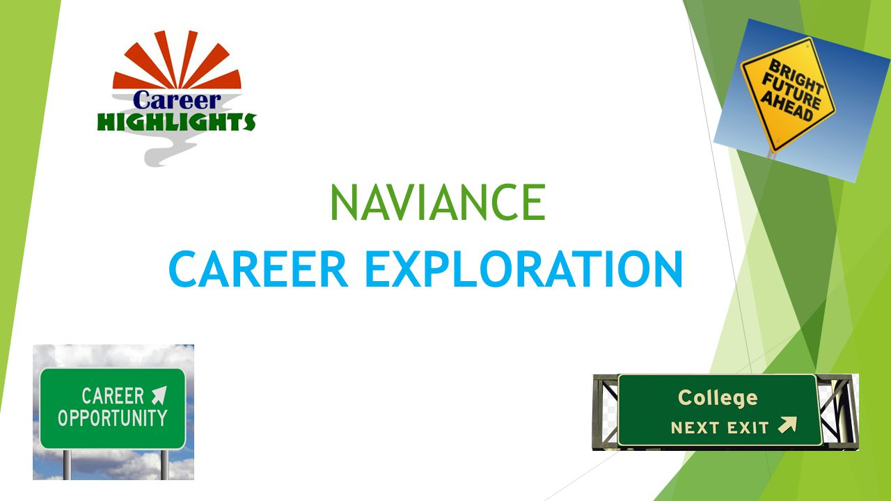 NAVIANCE CAREER EXPLORATION