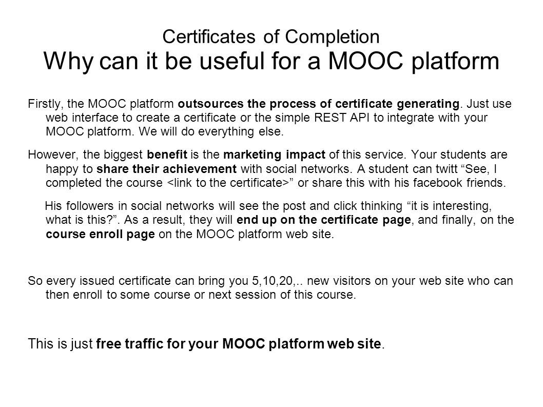 Certificates Of Completion Online Service By Myeducationpath Is