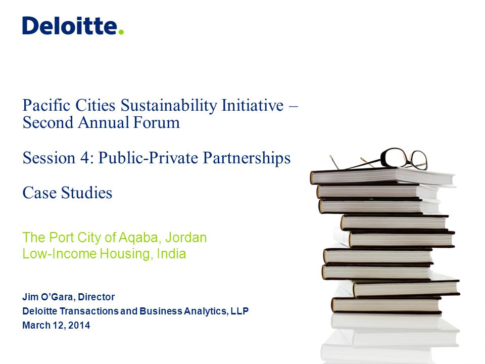 Pacific Cities Sustainability Initiative – Second Annual