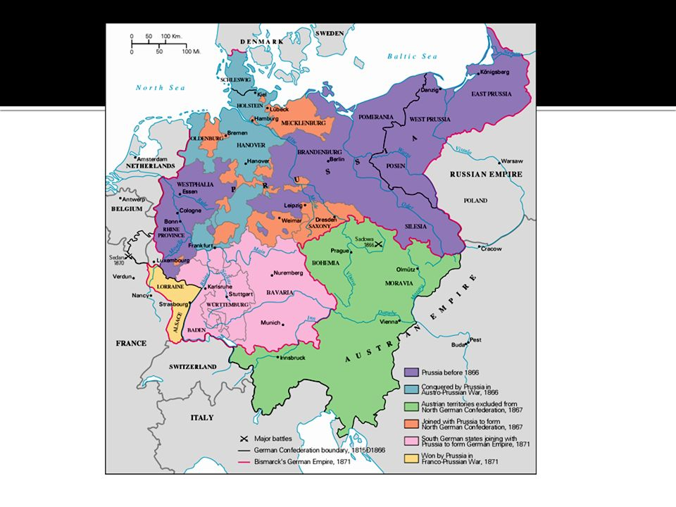 Map Of Germany Late 1800s.The Creation Of A State In The Late 1800s Otto Von Bismarck