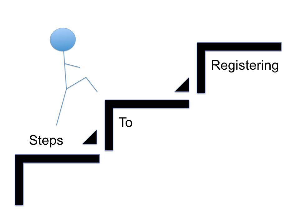 Steps To Registering