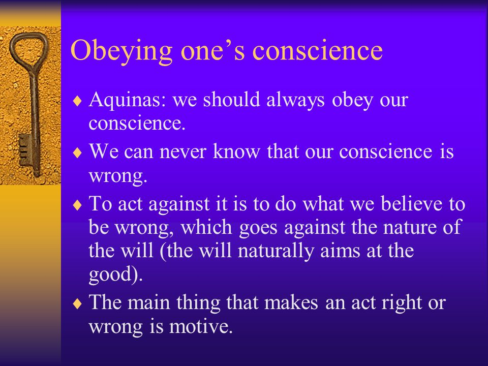 conscience in the bible