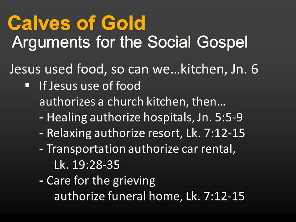 Jesus used food, so can we…kitchen, Jn.