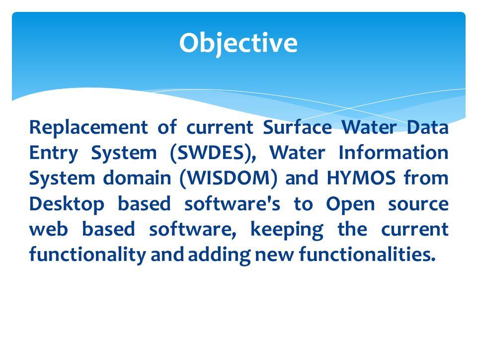 Presentation on Online Surface Water Information System (eSWIS