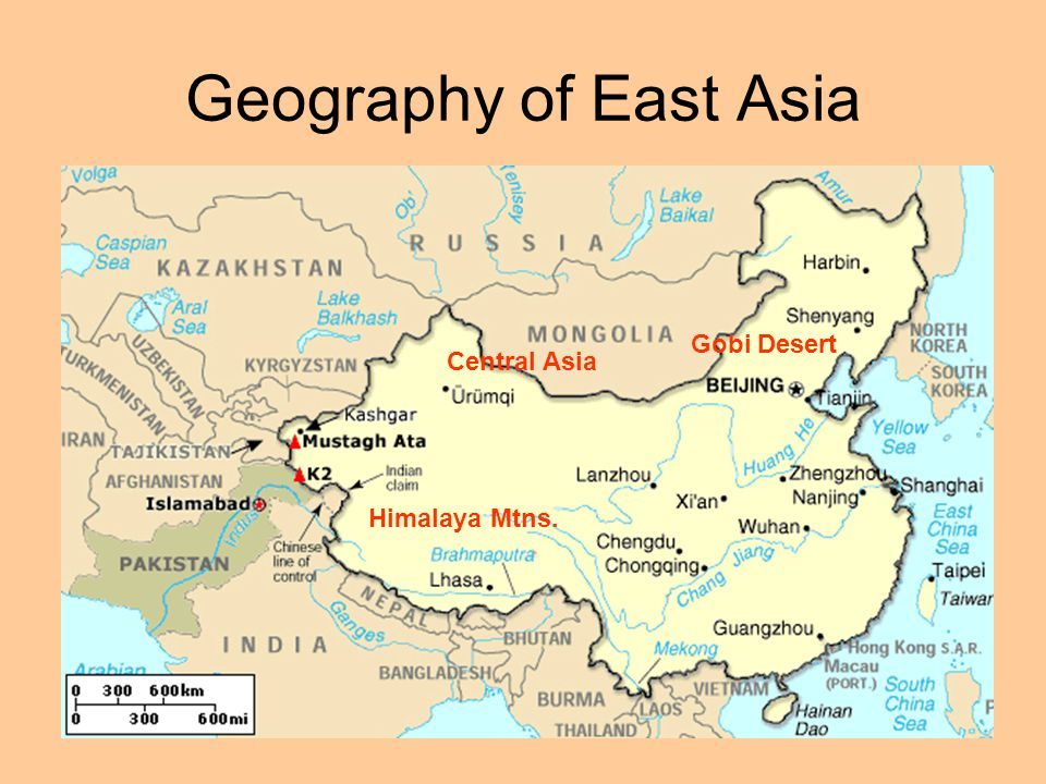 Ancient china prehistory and early dynasties geography of east asia 2 geography of east asia himalaya mtns gobi desert central asia gumiabroncs Choice Image