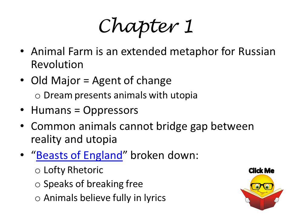 Animal Farm Chapter 1 5 Outlines Review Main Menu Chapter Outlines Chapter 1 Chapter 1 Chapter 2 Chapter 2 Chapter 3 Chapter 3 Chapter 4 Chapter Ppt Download