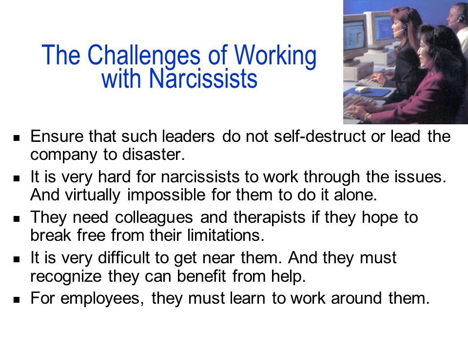 Narcissistic Leaders HDCS 4393/4394 Internship Dr  Shirley