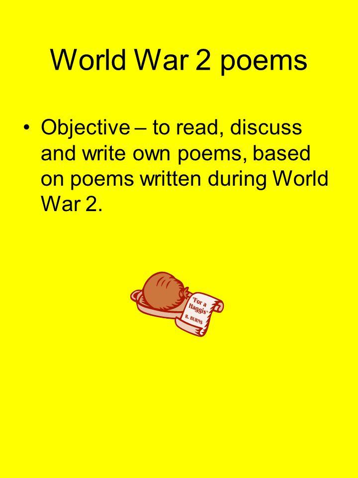 Idea of world war 2.