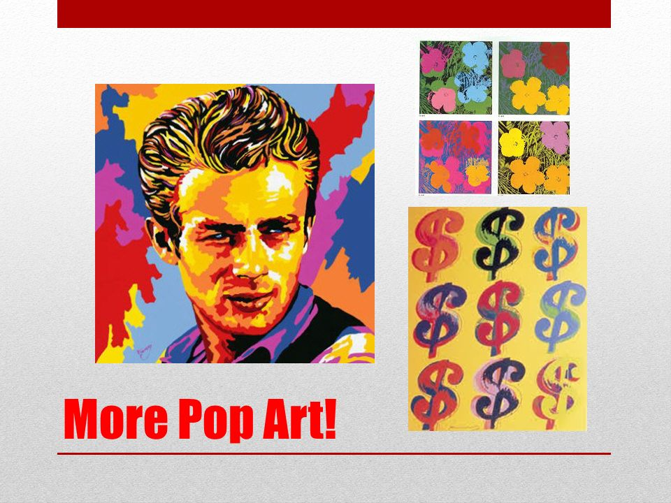 More Pop Art!