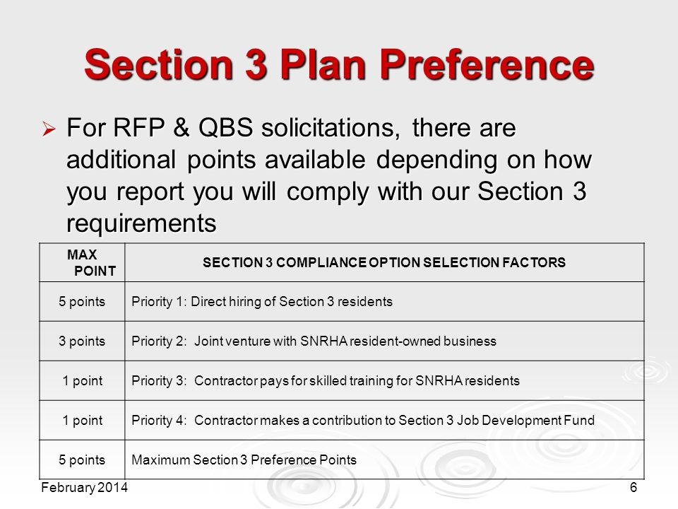 Southern Nevada Regional Housing Authority Section 3 Program