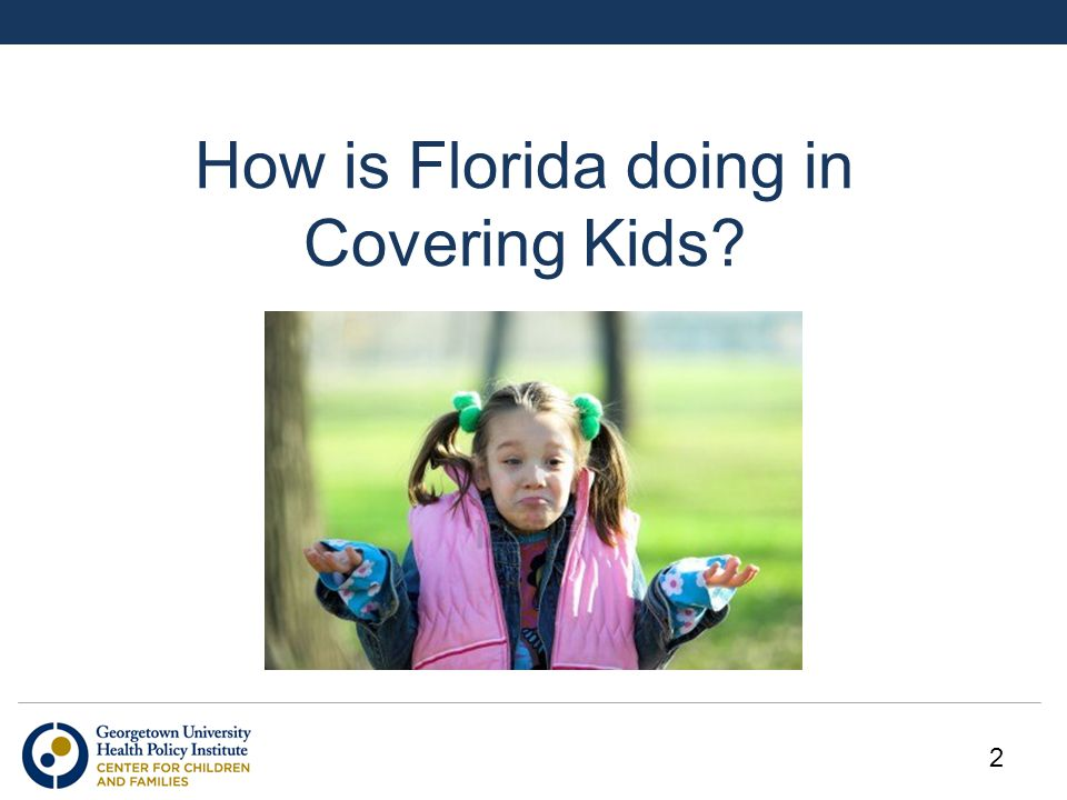 How is Florida doing in Covering Kids 2