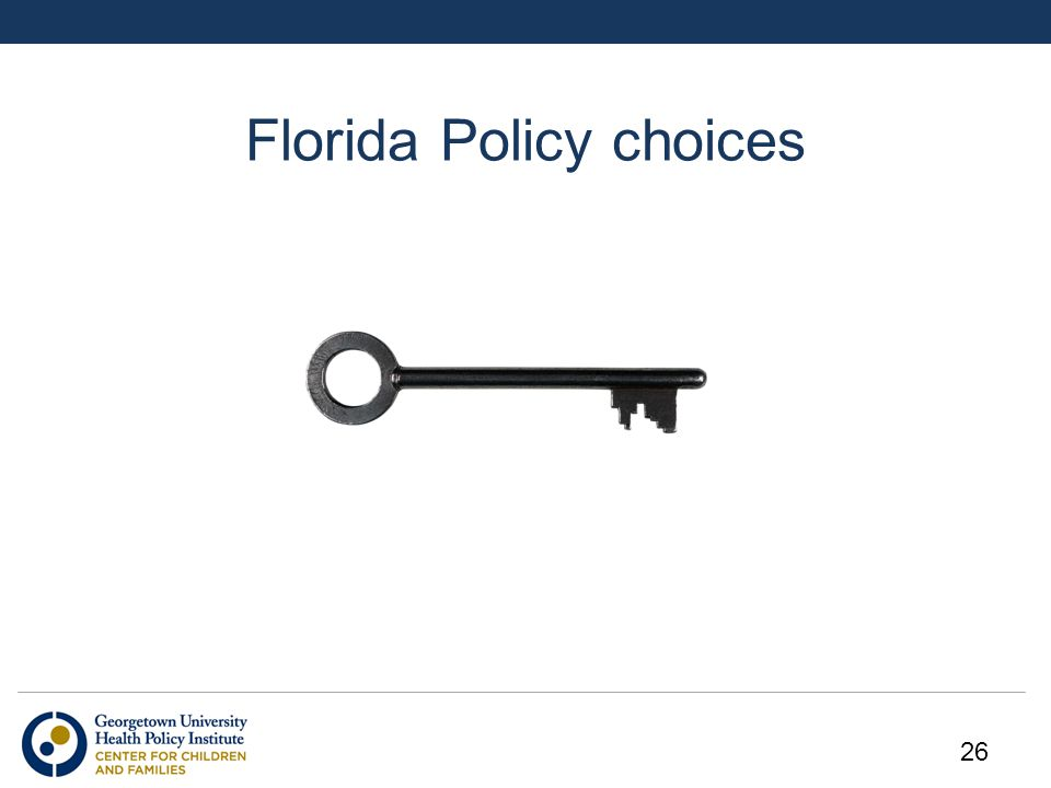 Florida Policy choices 26