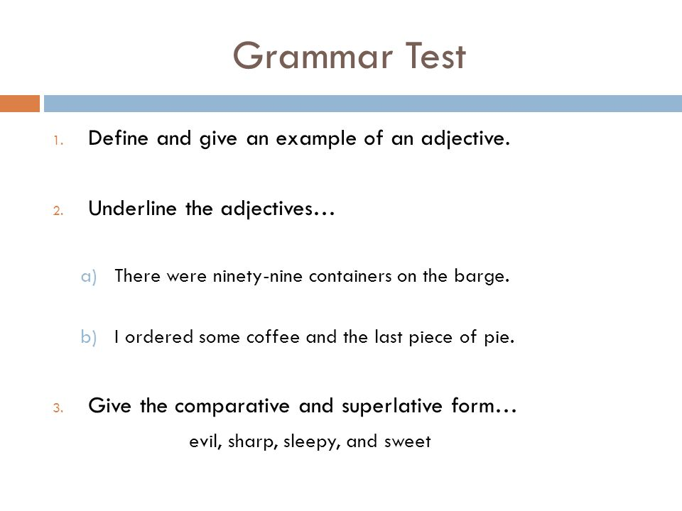 Grammar Monday The Wonderful World Of Adjectives Ppt Download