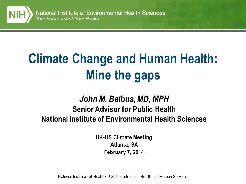 1 National Institutes Of Health US Department